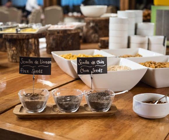 Breakfast at Hotel Rio Serrano