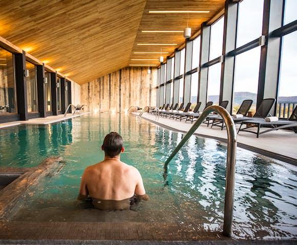Pool at Hotel Rio Serrano