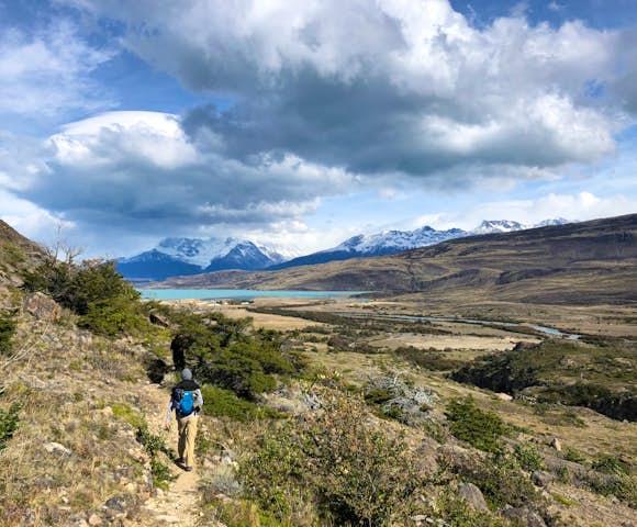 Estancia cristina hiking view