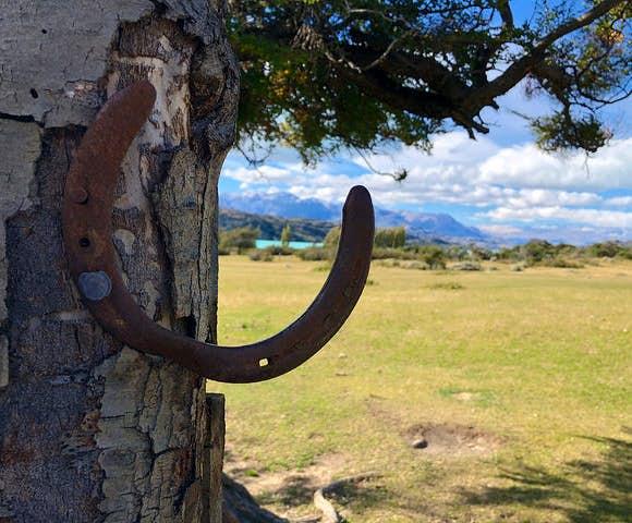 Estancia el condor horseshoe