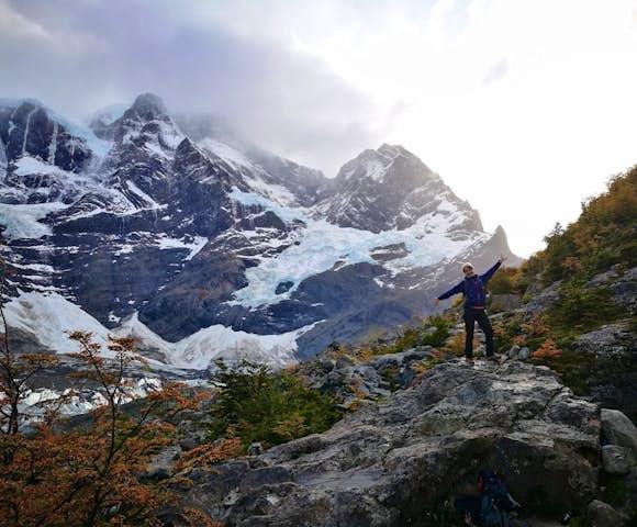Torres del Paine in Autumn