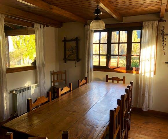 Estancia el condor dining room