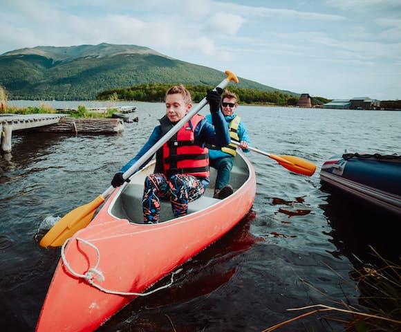 Canoe Tierra del Fuego 4x4 Trip