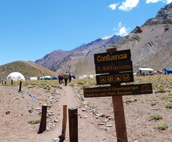 Confluencia (3,450m)
