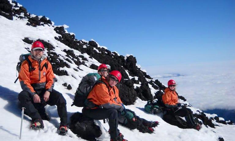 Lanin & Villarrica Volcanoes