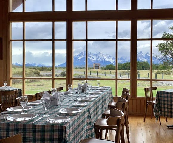 Meals at Riverside Camp, Torres del Paine, Patagonia, Chile