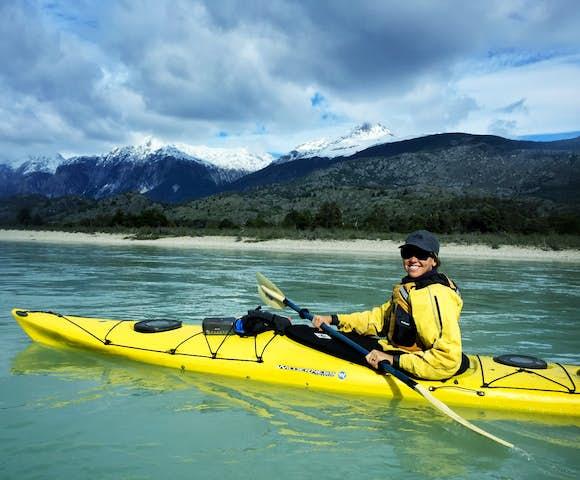 Kayaking aysen