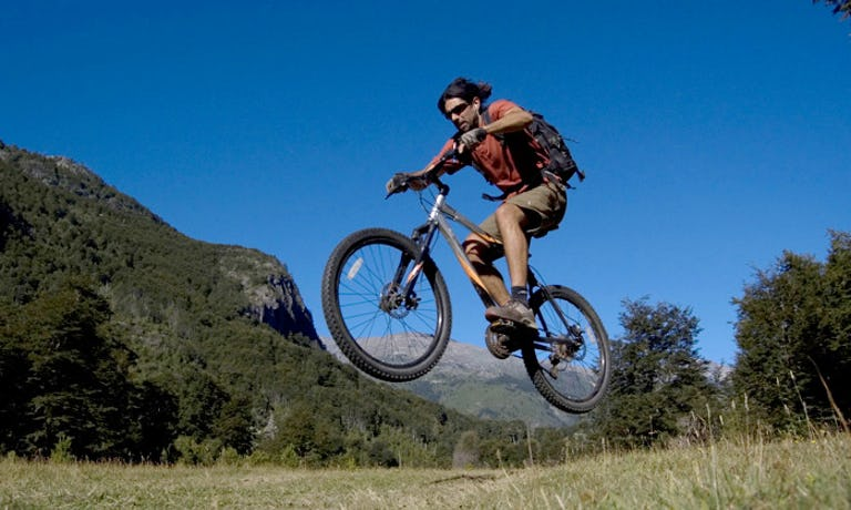 Mountain Biking in the Rio Puelo Valley