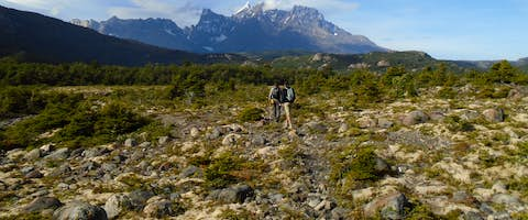 Hiking the Pingo Valley, Chile, Patagonia