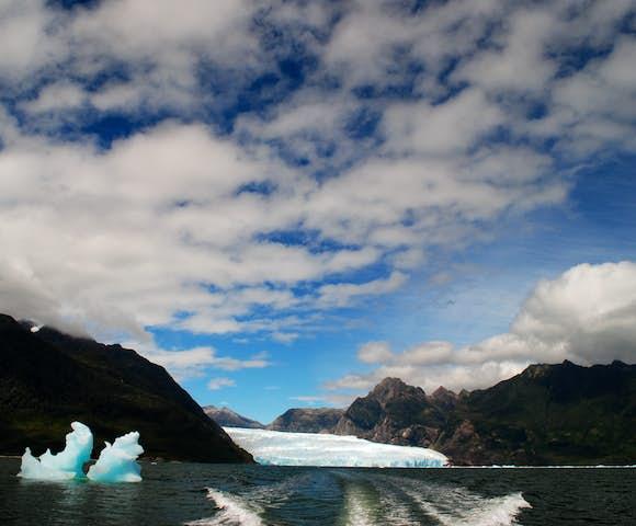 San Rafael glacier, Patagonia