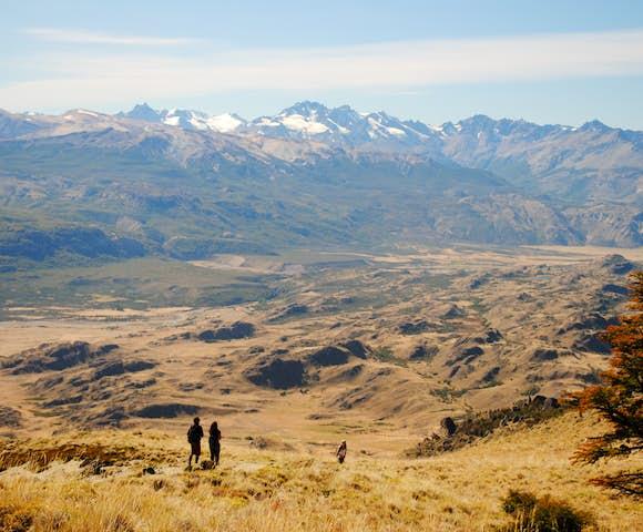 Hiking chacabuco valley aysen