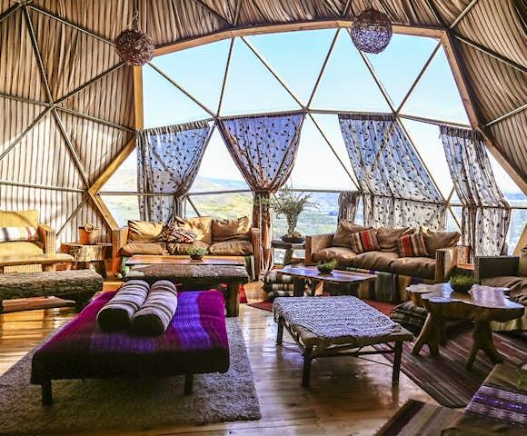 Eco Camp Bar Dome