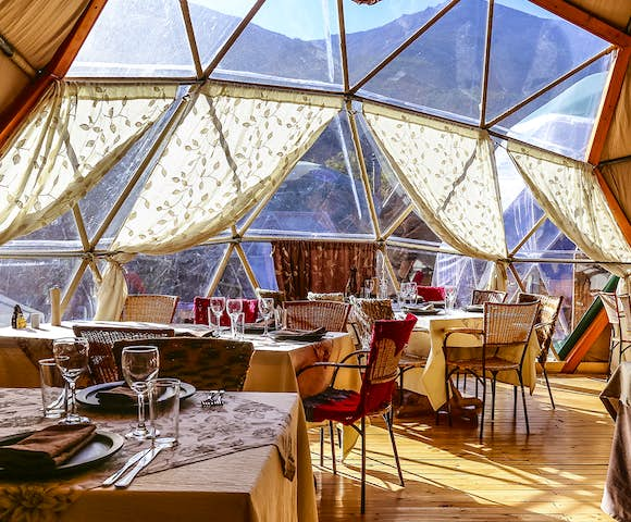 Eco Camp Community Dome