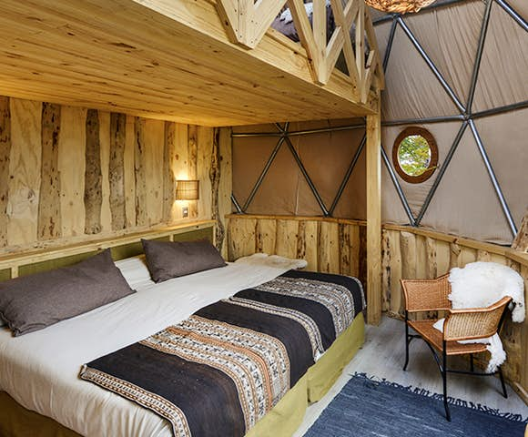 Eco Camp Suite Loft Dome