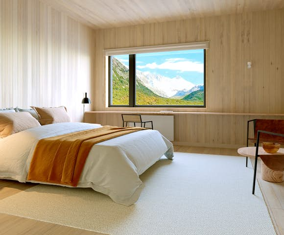 Standard Room at the Explora Chalten Hotel, Patagonia