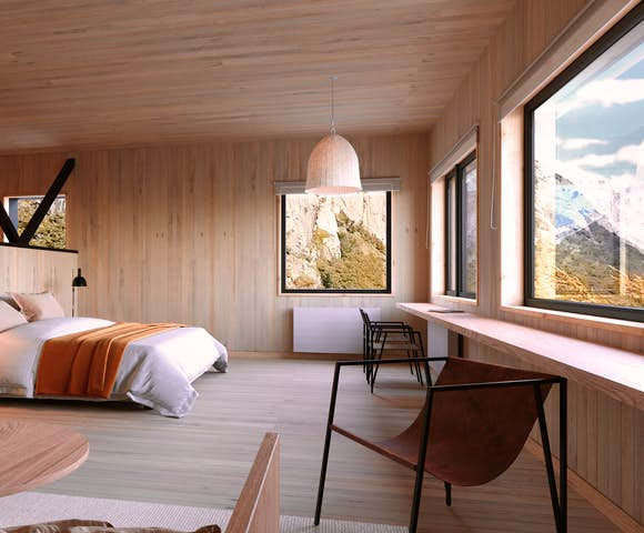 Suite Room at the Explora Chalten Hotel, Patagonia