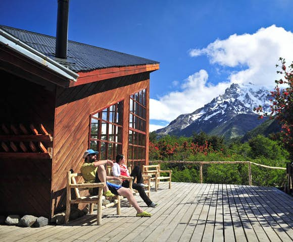 Refugios in Torres del Paine