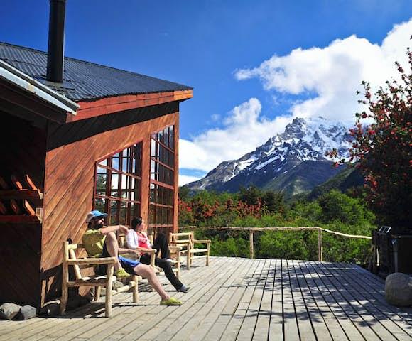 Refugio Los Cuernos, Torres del Paine, Patagonia, Chile