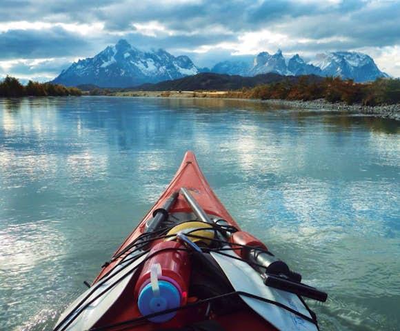 Kayaking in Patagonia