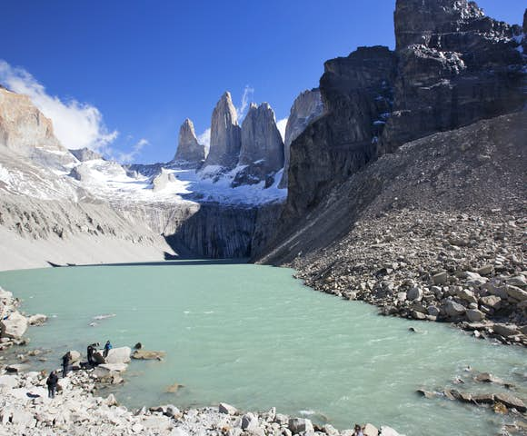 Torres Del Paine Lagoon-Shereen Mroueh