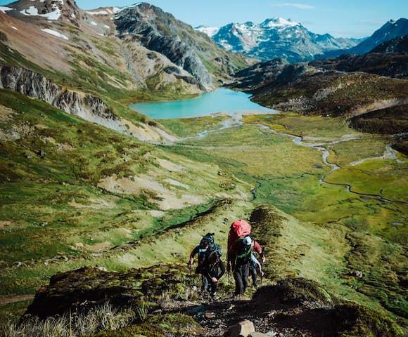 Trekking to Rio Chico, Tierra del Fuego, Patagonia