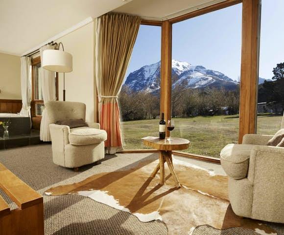 Hotel las Torres Suite room, Torres del Paine, Patagonia