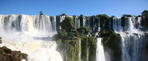 Iguazu Falls, Brazil and Argentina