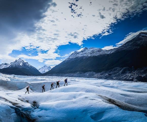 Ice Trek on Glacier Grey