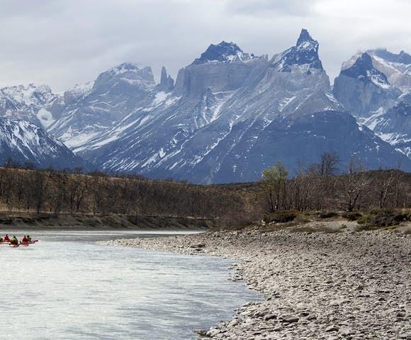 Kayak mountains