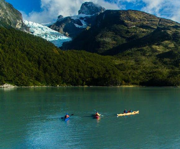 Kayak serrano river