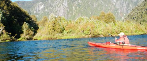 Kayaking in the Patagonian Lake District