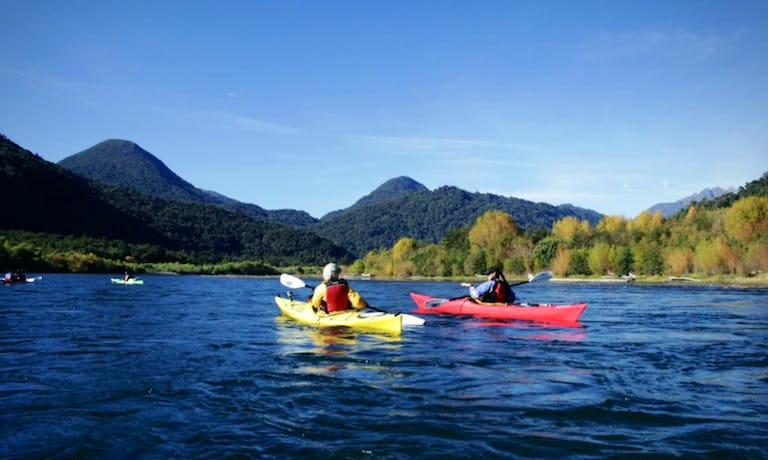Sea-Kayak, Petrohue River & Reloncavi Fjord