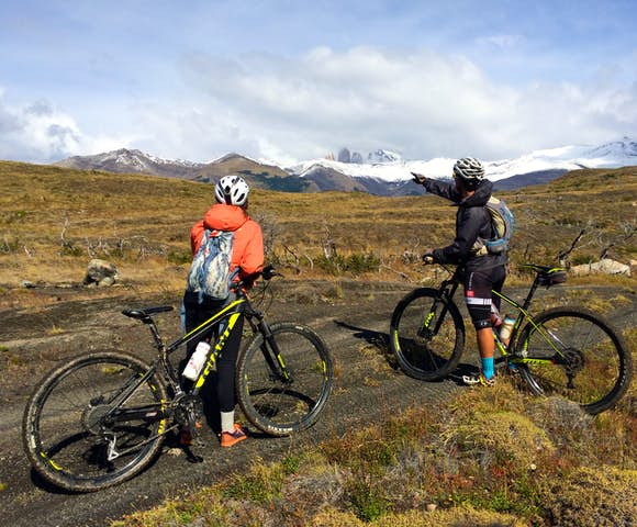 Laguna Azul mountain biking dittmar