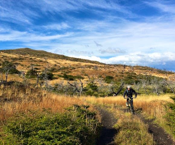 Laguna Azul mountain biking Dittmar