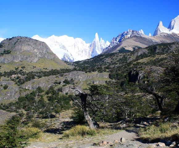 Laguna de los Tres hike, Los Glaciares National Park, Patagonia