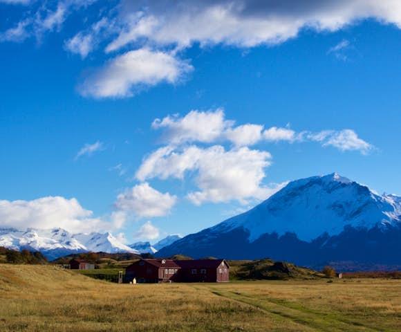 landscape around estancia la peninsula