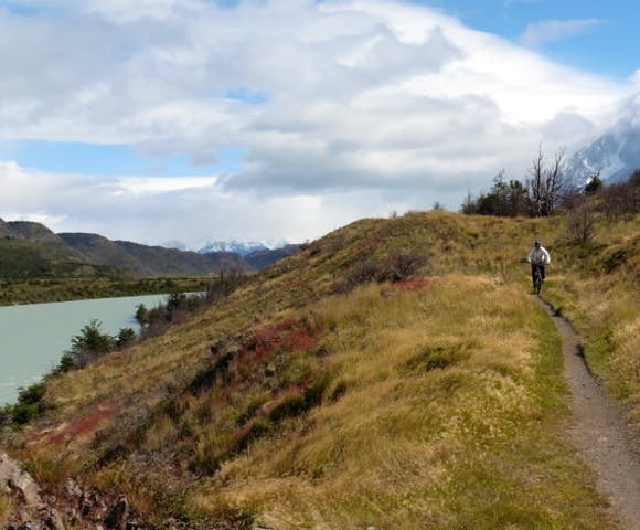 Mountain bike Torres del Paine