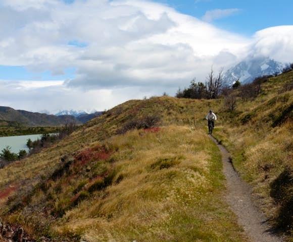Mountain bike Torres del Paine