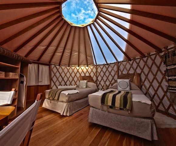 Pat camp yurt Twin