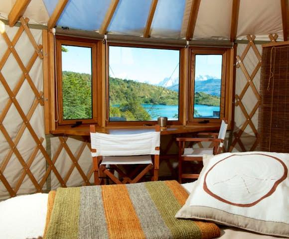 Pat camp bedroom
