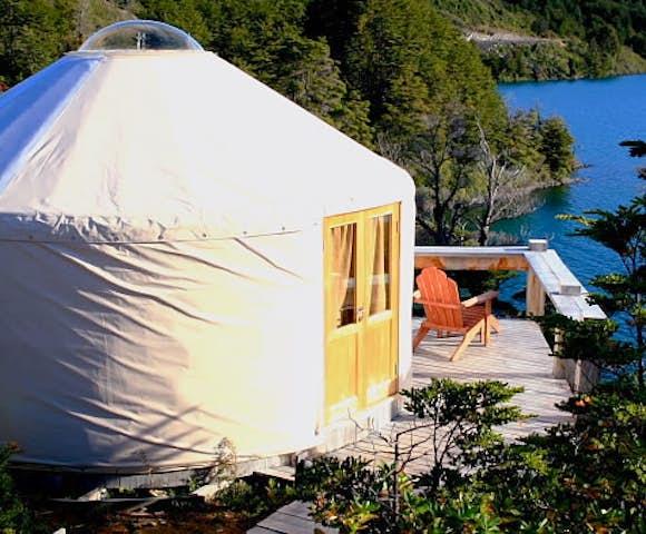 Pat camp yurt