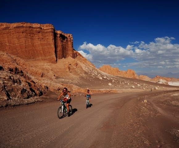Mountain biking Atacama