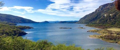 Bay in Tierra del Fuego