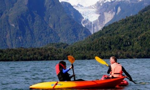Kayaking in Aysen