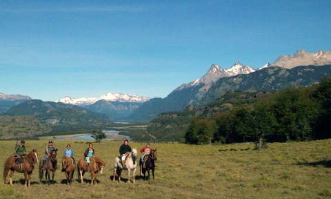 Horse riding in Aysen