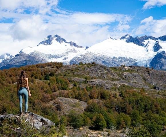Hiking the trails around Mallin Colorado Lodge, Lago General Carrera, Patagonia, Chile