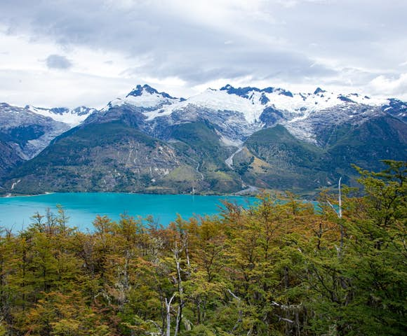 Views from Mallin Colorado Lodge, Lago General Carrera, Patagonia, Chile