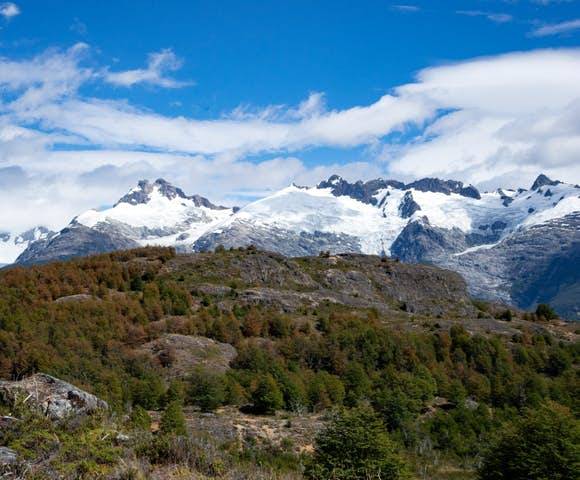 Views from Mallin Colorado Lodge, Patagonia, Chile