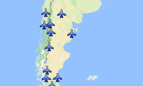 How to get to Patagonia