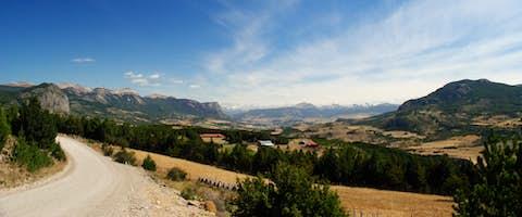 Patagonian Peaks and Plains
